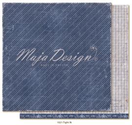 1021 Scrappapier dubbelzijdig - Denim en Girls - Maja Design
