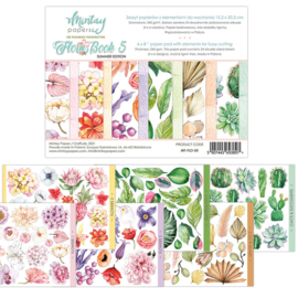 Paperpad Mintay Papers - Flora Book 5 - 15.2 x 20.3 cm - MT-FLO-05