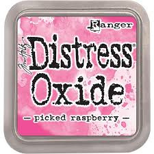 Distress Oxide - Picked Raspberry - Ranger