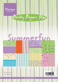 PK9073 Paperpad A5 - Summerfun - Marianne Design