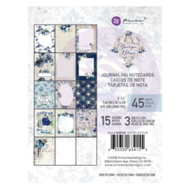 634155 Paperpad 3x4 Journaling  - Georgia Blues - Prima Marketing