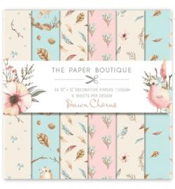 PB1068 Paperpad 30.5 x 30.5 cm Pawn Chorus - The Paper Boutique PAKKETPOST!