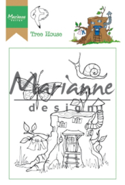 HT1642 Clearstempel  - Marianne Design
