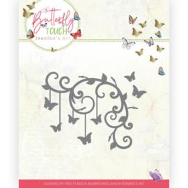 JAD10125 Snij- en embosmal - Butterfly Touch - Jeanine's Art