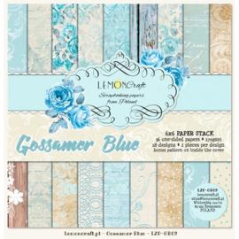 Paperpad 15.2 x 15.2 cm Gossamer Blue 36 vel - Lemon Craft