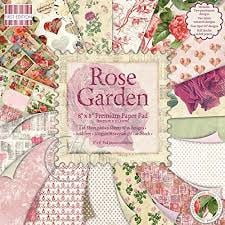 Paperpad 20 x 20cm - 48 vel - Rose Garden - First Edition