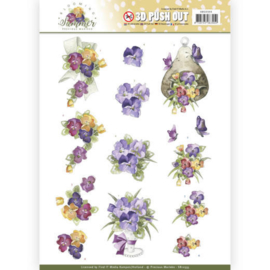 SB10355 Stansvel A4 - Blooming Summer - Marieke Design