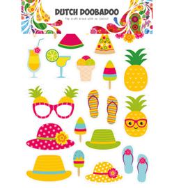 474.007.011 Dutch Paper Art A4 Summer Elements - Dutch Doobadoo