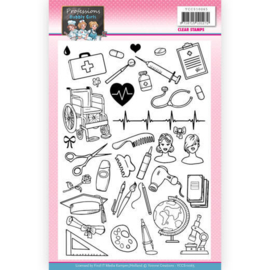 YCCS10065 Clearstempel - Bubbly Girls - Yvonne Creations
