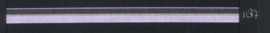 9mm lint Organza/Satijn - Lila - 1 meter