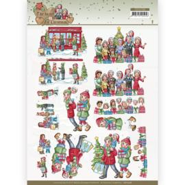 CD11728 3D vel A4  - The Heart of Christmas - Yvonne Creations