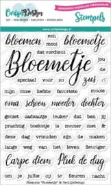 CDST-0063 Stempels Bloemetje - Carlijn Design