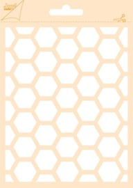 6002-0830 Polybesa stencil - Joy Crafts