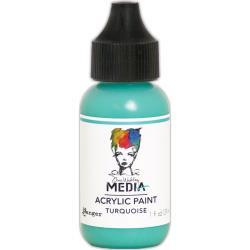 MDQ54108 Acrylic Paint 29ml - Turquoise - Dina Wakley Media