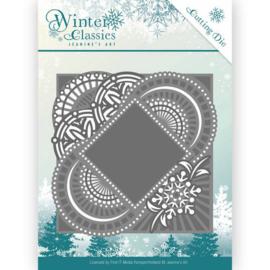 JAD10017 Snij- en embosmal - Winter Classic - Jenine's Art
