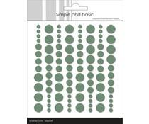 SBA009 Enamal dots 96 stuks - Simple and Basic