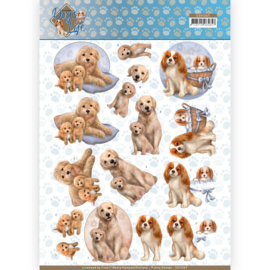 CD11367 3D vel A4 - Dog's Life - Amy Design