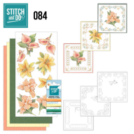 Stitch en Do nr. 84 - Yellow Flowers
