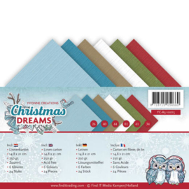 YC-A510015 Karton A5 - Christmas Dreams - Yvonne Creations