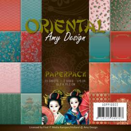 ADPP10022 Paperpad - Oriental - Amy Design