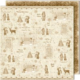 475 Scrappapier dubbelzijdig - Vintage Winter - Maja Design