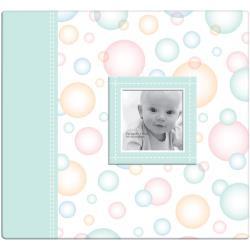 Scrapalbum Baby circles pastel - met passepartout - 12 x 12 inch