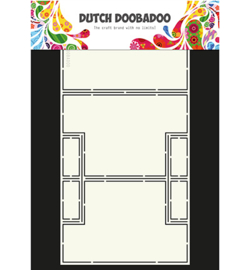 470.713.328 Dutch Card Art A4 Tri-Shutter - Dutch Doobadoo