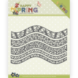 PM10146 Snij- en embosmal - Happy Spring - Marieke Design