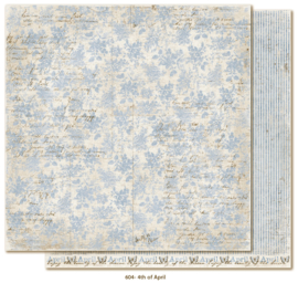 604 Scrappapier dubbelzijdig - Vintage Spring - Maja Design