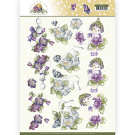 CD11314 3D vel A4 - Blooming Summer - Marieke Design