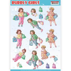 CD11307 3D vel A4 - Bubbly Girls - Yvonne Design