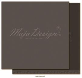 982 Monochromes scrappapier dubbelzijdig - Celebration - Maja Design
