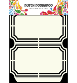 470.713.129 Dutch Shape Art A5 - Dutch Doobadoo