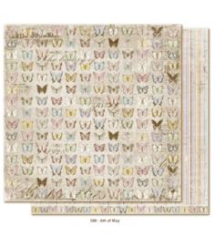588 Scrappapier dubbelzijdig - Vintage Spring - Maja Design