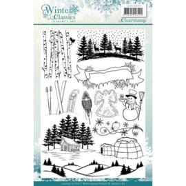 JACS10007 Clearstempel - Winter Classic - Jenine's Art
