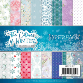 JAPP10015 Paperpad - The Colours of Winter - Jeanine's Art