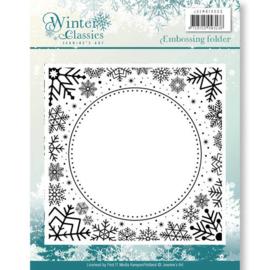 JAEMB10003 Embossingfolder - Winter Classic - Jenine's Art