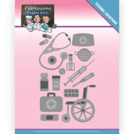 YCD10235 Snij- en embosmal - Bubbly Girls - Yvonne Creations