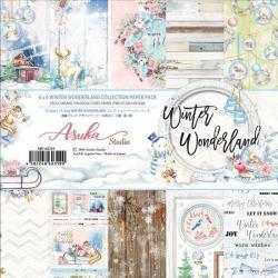 Paperpad 15x15cm - Winter Wonderland - 12 vel dubbelzijdig - Memory Place
