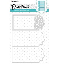 STENCILSL299  Snij- en embosmal - Essentials- Studio Light