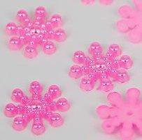 Parel Snowflake - 10 stuks - Rose