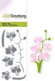 115633/0169 Snij- en embosmal Orchidee - Craft Emotions