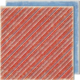 467 Scrappapier dubbelzijdig - Vintage Winter - Maja Design