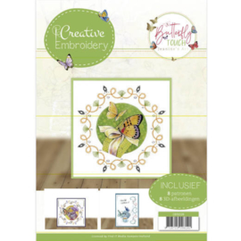 CB10026 Creative Embrodery  - Butterfly Touch - Jeanine's Art