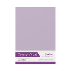 Lavender - Glanskarton A4 310 grams - 10 vel - Centura Pearl