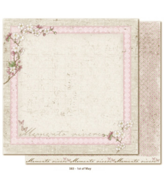 583 Scrappapier dubbelzijdig - Vintage Spring - Maja Design