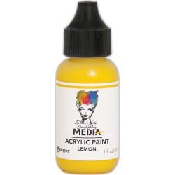 MDQ5023 Acrylic Paint 29ml - Lemon - Dina Wakley Media