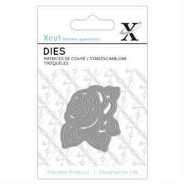 XCU503078 Snij- en embosmal - Roos - Xcut