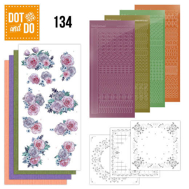 Dot en Do nr. 134 - Purple Flowers