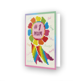 DDG.015 Diamond Dotz - Greeting Card - Nr.1 Mom